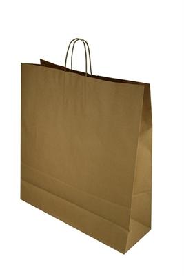 Picture of Ds à 150 papieren tas bruin 45+17x47 cm
