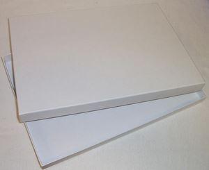 Afbeelding van A4 doos en deksel 30,2x21,3x2,2 cm