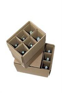 Picture of Verzenddoos 41x30,3x36,3 cm voor 12 flessen