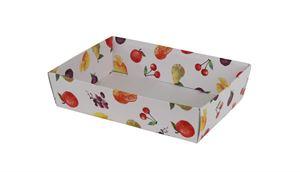 Picture of Ds à 25 kartonnen bak 23x16x5,8 cm Fruit