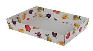 Picture of Ds à 25 kartonnen bak 32,5x23x5,8 cm Fruit