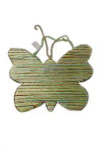 Afbeelding van Vlinder wanddecoratie 30 cm (uc)