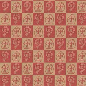 Afbeelding van Ds à 200 Sint kadozak 17x25 cm Mijters rood