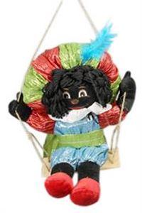 Afbeelding van Zwarte Piet + schommel ca. 25 cm