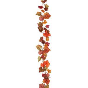 Afbeelding van Herfst guirlande oranje 185 cm
