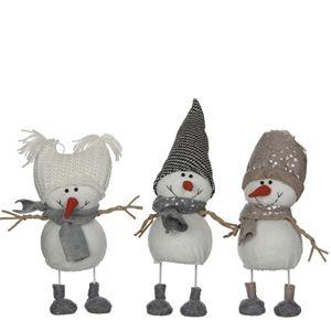 Afbeelding van Sneeuwpop Met Wiebellijf  29cm
