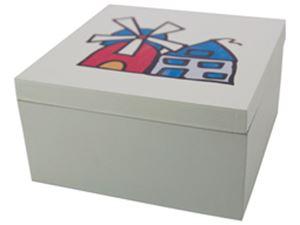 Afbeelding van Melkkan keramiek Koe met bel 13x9x13 cm