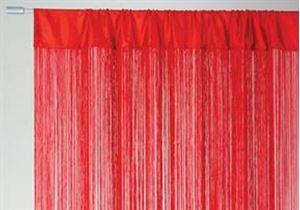 Afbeelding van Gordijn Lasalle Rood 90x250cm