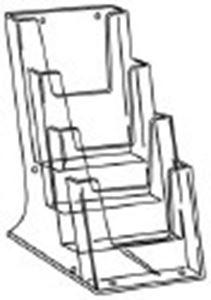 Picture of Acryl folderhouder a6 4 vak