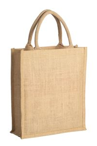 Picture of Eco jute trendy tas 31+13x35 cm