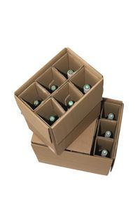 Picture of Verzenddoos 30,3x20,5x36,3 cm voor 6 fles