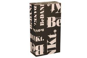 Afbeelding van Geschenkdoos 2 fles Bedankt zwart 33,5x18,7x9,5 cm