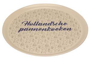 Afbeelding van Keramiek bord Hollandsche pannenkoeken
