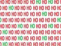 Afbeelding van Kerst-Papier 50cm/100m  hohoho