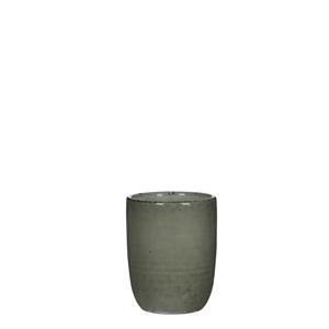 Afbeelding van Aardewerk beker Tabo r7,5c10 cm grijs