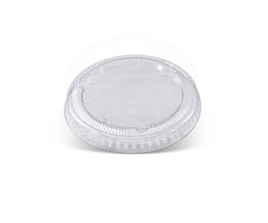 Afbeelding van Ds à 300 PET foodcontainer/saladedeksel 1100ml 165mm Ø Anti-fog