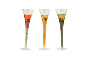 Picture of Gelkaars In hoog glas 3 assorti (uc)