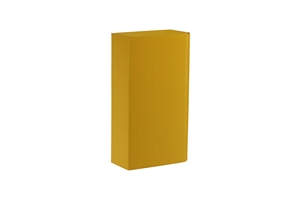 Picture of Geschenkdoos 2 fles geel open ribkarton met (ucl)