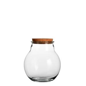 Picture of Glazen voorraad pot 19x21 cm Claude