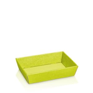 Bild von  Ds à 25 kartonnen bak 22x14x5,5 cm lime groen