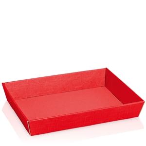 Bild von Ds à 25 kartonnen bak 31,5x22x5,5 cm rood