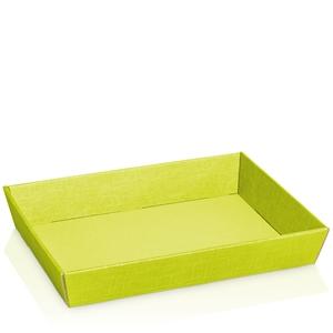 Bild von Ds à 25 kartonnen bak 31,5x22x5,5 cm lime groen