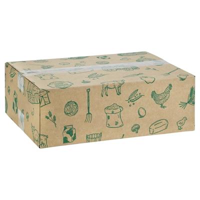 Picture of Pakketdoos 39x29x13 cm Streekproducten groen