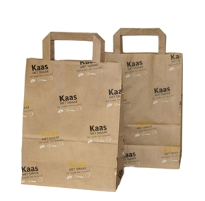 Afbeelding van Ds à 250 papieren tas Kaas met smaak gr