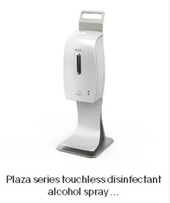 Picture of Tafel dispenser contactloos voor 600 ml desinfectie alcohol spray