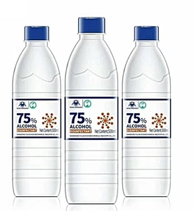 Afbeelding van Fles à 500 ml desinfectie refill voor oppervlakte en handen