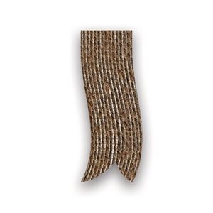 Picture of Rol jute lint 10 mm 25 mtr donker bruin