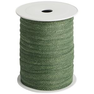 Afbeelding van Rol jute lint 10 mm 25 mtr donker groen